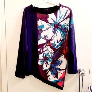 Zara asymmetrical shirt